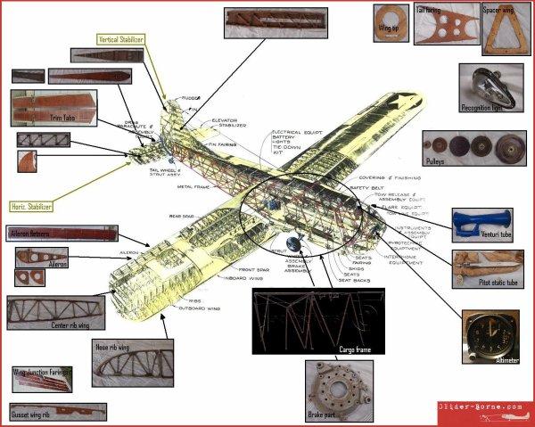 Projet de restauration d'un planeur Waco Cg-4A