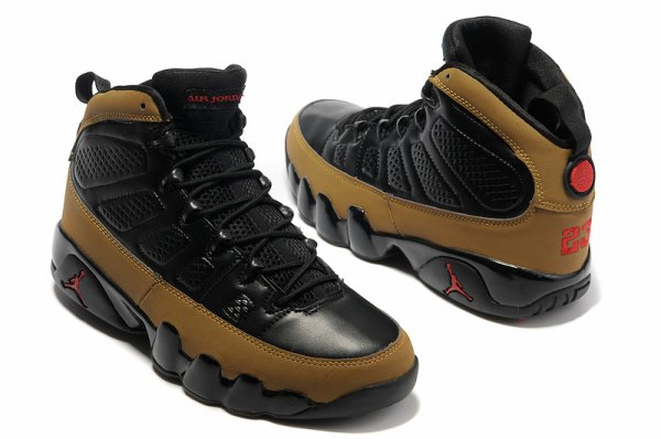New arrival Authentic Air Jordan IX Retro Olive