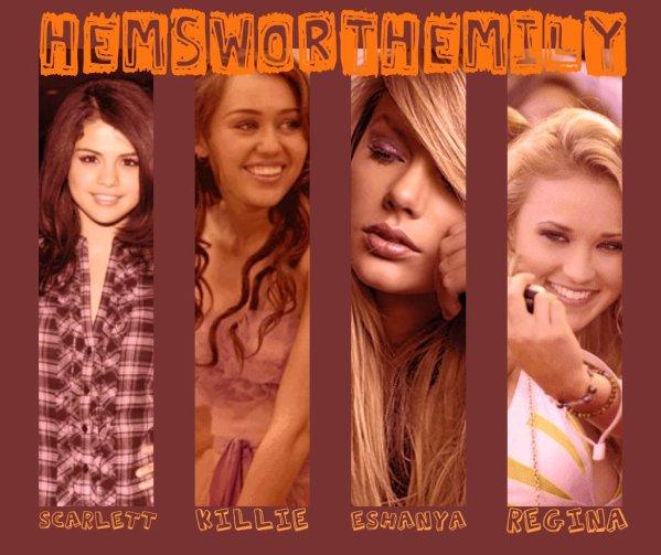 ~ Hemsworth Emily Scarlett ~ Prologue ~ Casting ~