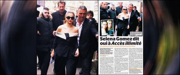 Découvrez des photos lors de l'émission « Accès illimité » de Selena à Paris.