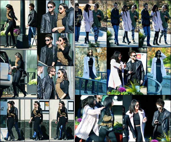 24.01.2015 ─ Selena Gomez a été photographiée, alors, qu'elle quittait un restaurant avec Zedd, étant, à Atlanta.Les rumeurs disaient donc vrai, Zedd a bel et bien rejoint sa belle à Atlanta... Ils sont ensuite aller avec des amis au Botanical Garden étant dans Atlanta.