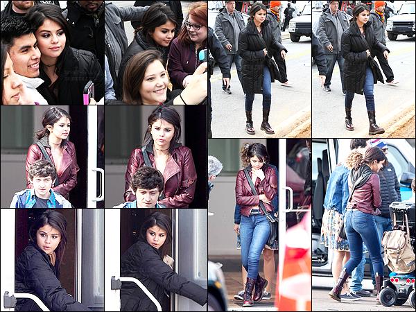 - 29/01/15 : Selena a été aperçue sur le tournage de « The Revised Fundamentals Of Caregiving », à Atlanta.   Comme depuis 2011, Selena sera sûrement présente lors des Vanity Fair Oscar Party. Quant au tournage j'ai très hâte de voir le film. Pas vous ? -