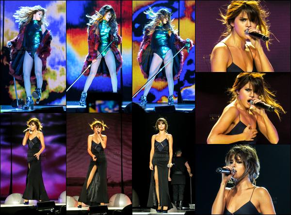 08.07.16 ─ Selena Gomez a donner son quarante-deuxième concert pour le « Revival Tour » étant à Los Angeles.Selena Gomez se produira pendant encore 01 show dans les villes des Etats-Unis ! Selena Gomez se produira ensuite au Québec lors d'un festival d'été...
