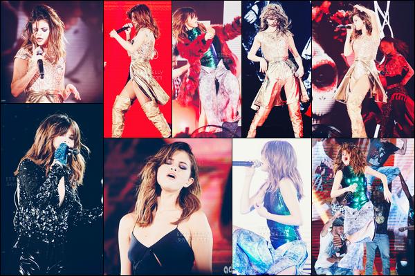 23.07.16 ─ Selena Gomez a donner son quarante-cinquième concert, pour le « Revival Tour » étant dans Jakarta.Après une courte pause, Selena Gomez est enfin arrivée en Asie ! Selena Gomez se produira encore pendant 05 show en Asie puis partira en Océanie...