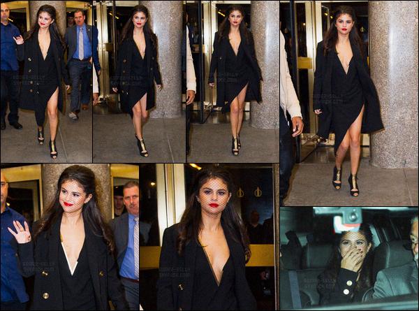 14/10/2015 : Selena Gomez était présente lors de l'émission «Tonight Show with Jimmy Fallon», New York. Ils ont réalisé des dubmash dont un sur son nouveau single et Selena à parler de son application pour trouver les fantômes. Elle est trop mignonne.