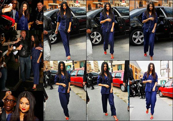 26/09/2015 : Selena Gomez a été vue se rendant dans un studio d'enregistrement, qui se situe dans Paris. Sel a sortie son plus beau pyjama ! Vous ne rêvez pas ! Plus tôt, Sel quittait le restaurant Yeeels où le revival event a eu lieu. Top quand même..