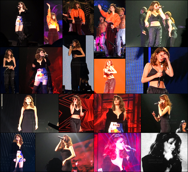 03.08.16 ─ Selena Gomez a donner son cinquante-et-unième concert pour le « Revival Tour » étant dans Tokyo.Selena se prend donc trois petits jours de pause et sa tournée reprendra en Océanie. Elle performera 5 fois puis sera en pause jusqu'au mois d'Octobre.
