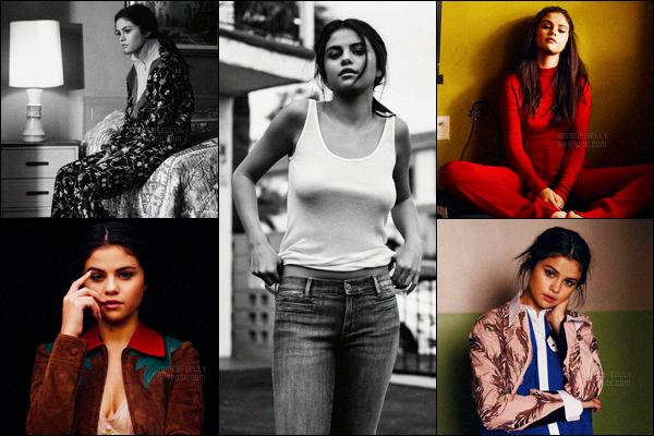 - Selena Gomez fait la couverture du magazine « InStyle UK » du mois de Janvier 2016.    -