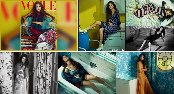 Selena Gomez fera la couveture de «Vogue Australia» du mois de Septembre