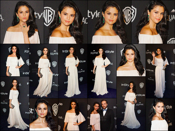 10.01.2016 ─ Selena Gomez était présente à l'after-party de « 73rd Golden Globe Awards », étant, à Beverly Hills.Enfin Selena Gomez a décidée d'enlever ses extensions. Mais pour combien de temps ? La connaissant, c'est pas pour bien longtemps. C'est un jolie top !