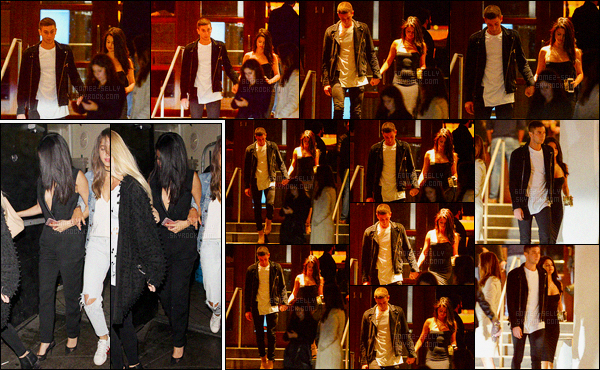 17/01/2016 : Selena Gomez a été aperçue alors qu'elle quittait le The Nice Guy, qui est dans West Hollywood. Après avoir passer la soirée avec la copine de son ex, Selena a quittée l'hôtel SLS en tenant la main de Samuel Krost. Nouveau boyfriend en vu ?