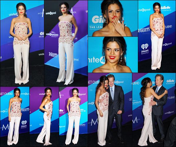 27/02/14 - Selena Gomez était présente au gala de charité à Unite 4 avec de William H. Macy à Los Angeles.Selena a également posée avec son amie, la chanteuse Demi Lovato et aussi Jane Seymour. Elle a reçu un prix pour son travail à l'UNICEF. Top !