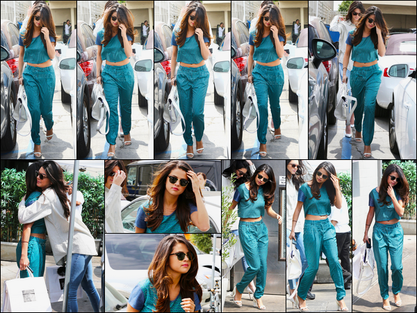 21.03.2014 ─ Selena Gomez a été photographiée alors qu'elle quittait le restaurant Joan's on Third à Los Angeles.Surprise ! C'est en compagnie de la célèbre mannequin Kendall Jenner que Selena Gomez est allée déjeuner. Sa tenue est vraiment un gros top, j'adore !