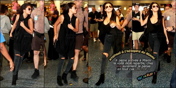 12/07/14 - Selena Gomez a été photographiée alors qu'elle se promenait, dans les rues, étant, dans Miami.C'est en compagnie du réalisateur Harmony Korine qu'elle a été photographiée. Peut être un nouveau projet de film pour la belle ? Sa tenue est top