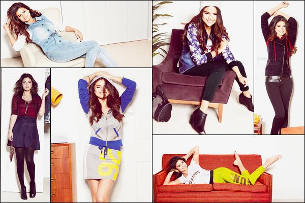 Découvrez la collection automne/hiver 2014 de la marque à Selena Gomez !