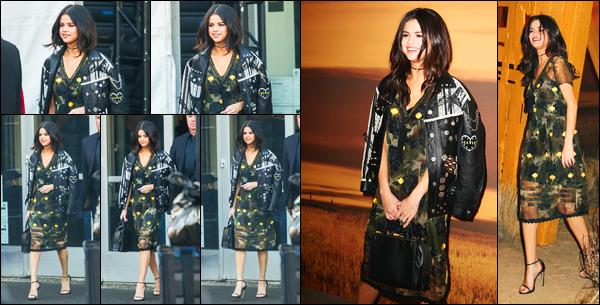 14.02.2017 ─ Selena Gomez était présente lors du défilé pour « Coach » de la fashion Week, étant, à New-York C.Nous n'avons pas énormément de photos, mais ça fais toujours plaisir de revoir notre Selena... Concernant sa tenue, je ne suis pas vraiment fan, flop.