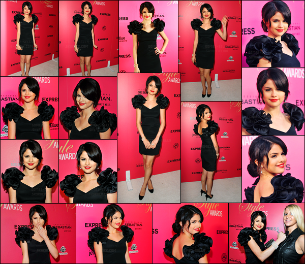 11.10.09 ─ Selena Gomez était présente lors des « Hollywood Style Award » qui se déroulait étant à Los Angeles.Avant la cérémonie la belle S. a été photographiée arrivant à l'aéroport de LAX. Concernant ses deux tenues, c'est deux beau top de ma part. Et vous?