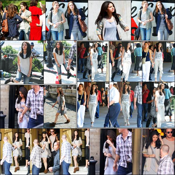 23.06.10 ─ Selena Gomez a été photographiée alors qu'elle était sur le set de Monte-Carlo, dans Paris en France.Un peu plus tôt, Selena a été vue quittant son hôtel puis entrain de faire du shopping dans Paris. Concernant sa tenue, c'est un bof de ma part perso.