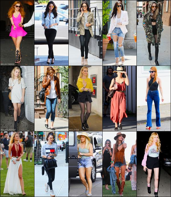 Qui porte le mieux la tenue printanière parmis les 15 vedettes ci-dessous ?