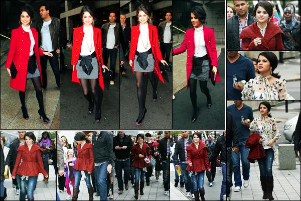 27.09.10 ─ Selena Gomez a été photographiée, alors, qu'elle quittait son hôtel, se situant, dans Londres, en UK.La belle profite de son séjour puisque deux jours plus tard elle a été visité Londres, dont London Eye... Concernant sa tenue, c'est un très beau top !