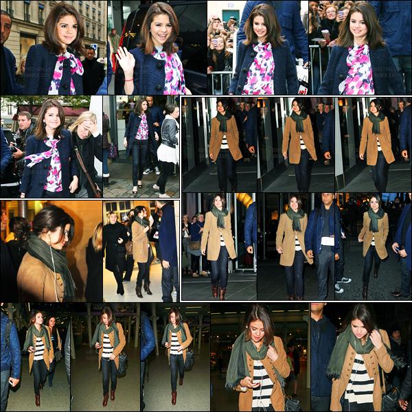19.10.10 ─ Selena Gomez a été photographiée pendant qu'elle se promenait, dans les rues, étant, à Paris, France.Grosse journée pour la belle S. puisqu'elle a ensuite été vue quittant son hôtel, pour se rendre à la station de train, et arrivant dans Londres.. Un top !