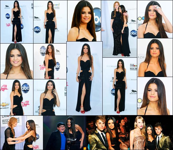 22.05.2011 ─ Selena Gomez était présente à la cérémonie des « Billboard Music Awards », étant, dans Las Vegas.La brunette s'est donc rendue à la cérémonie qui se déroulait au Nevada. Accompagnée de son petit-ami, Justin Bieber. Concernant sa tenue, c'est top