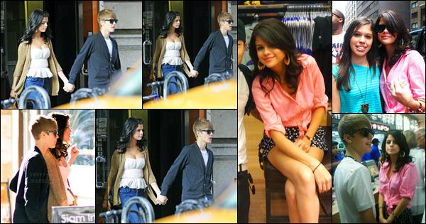29.06.2011 ─ Selena Gomez a été photographiée pendant qu'elle quittait un restaurant Siam Inn à New-York City.Un peu plus tard, Selena G. a été photographiée en compagnie de Justin Bieber, dans les rues de New-York. Concernant ces tenues, c'est deux tops !