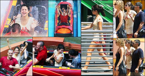29.07.2011 ─ Selena Gomez a été photographiée alors qu'elle était à la piscine de son hôtel à Orlando en Floride.La belle a ensuite été photographiée aux studios de Universal. La veille, elle a été vue quittant un concert en Floride... Sa tenue est un beau top !