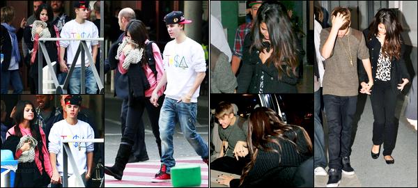 11.11.11 ─ Selena Gomez a été photographiée alors, qu'elle se promenait, avec Justin Bieber étant dans Madrid, ES.Le couple a ensuite été photographiée quittant un studio de TV.. La belle a décidé de suivre son chéri... Concernant sa tenue, c'est un top de ma part !
