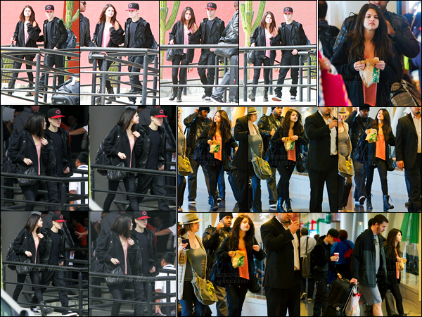 06.12.11 ─ Selena Gomez a été photographiée, alors, qu'elle arrivait à l'aéroport, étant, dans Los Cabos à Mexico.Une nouvelle fois la belle  S. été accompagnée de son petit-ami ! Un peu plus tôt, elle a été vue dans le starbucks à l'aéroport de LAX. Un top sa tenue