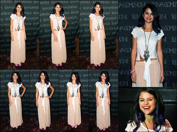 20.01.2012 ─ Selena Gomez était présente, lors du concert de charité pour « l'UNICEF », étant, à West Hollywood.Etant la plus jeune ambassadrice de l'UNICEF, c'est évident que Selena G. était présente lors du concert... Concernant sa tenue, c'est un bof pour moi.