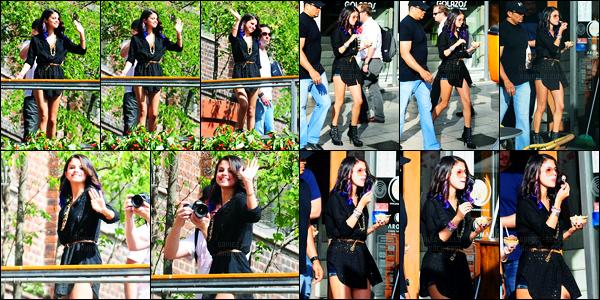 09.02.2012 ─ Selena Gomez a été photographiée, alors, qu'elle venait de s'acheter une glace, dans Buenos Aires.Toujours avec ces mèches de couleurs dans les cheveux, la belle a été photographiée mangeant sa glace. Concernant sa tenue, c'est un top pour moi