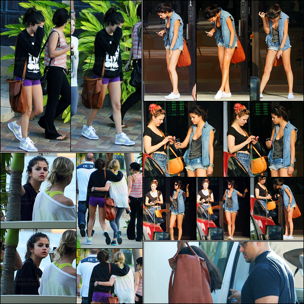 01.03.2012 ─ Selena Gomez a été photographiée, alors, qu'elle était sur le set de « Spring Breakers », en Floride.La belle a ensuite été photographiée dans Tampa, puis retournant à son hôtel. Puis elle a été vue à un salon de beauté. Concernant sa tenue, un top