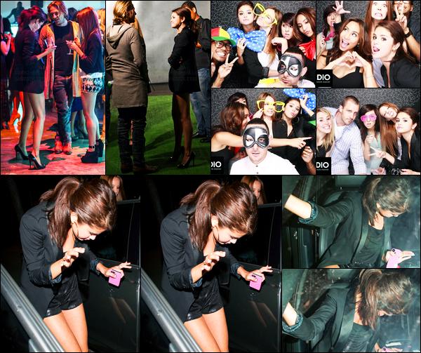 ''•-14/06/12-' : Selena Gomez était présente lors du launch pour « DS2DIO » qui se déroulait dans Los Angeles. La belle S. a ensuite été photographiée alors qu'elle quittait Chick-Fil-A à Hollywood... Concernant sa tenue, c'est un beau top pour moi !