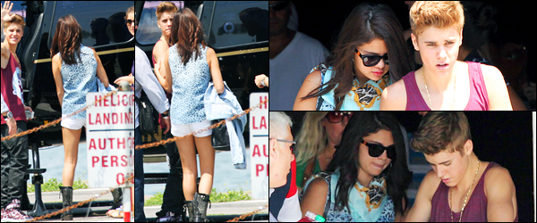 16.06.2012 ─ Selena Gomez a été photographiée, alors, qu'elle arrivait aux répétitions de «MMVA» dans Toronto.Un peu plus tard dans la journée, la belle Selena a été photographiée alors qu'elle était avec Justin, dans Toronto. Concernant sa tenue, c'est un top !
