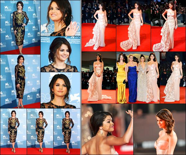 05.09.2012 ─ Selena Gomez était présente lors du « 69ème Venice Film Festival », se déroulant, dans Venise, IT.Un peu plus tôt, la belle a été photographiée quittant son hôtel et se promenant avec les filles.. Puis elle s'est rendue à la conférence de presse. Un top !