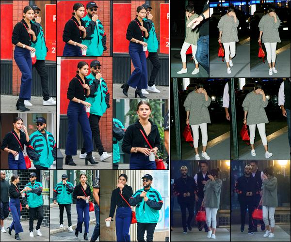 03.09.2017 ─ Selena Gomez a été photographiée, alors, qu'elle se rendait à une animalerie étant dans New-York.On dirait que les amoureux veulent adopter un animal à deux.. Plus tard dans la soirée, le couple a été photographiée allant dîner à Nobu à NYC. Un top !