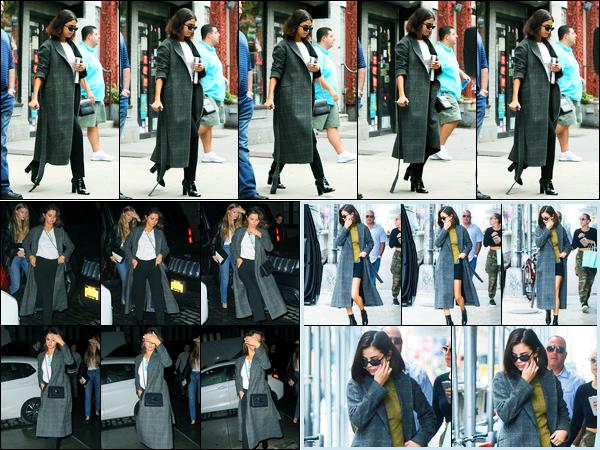 06.09.2017 ─ Selena Gomez a été photographiée pendant qu'elle quittait un building, étant, dans New-York City.Décidément, on a des sorties tout les jours de notre belle brunette ! Plus tard, elle a été vue dans New-York et le soir allant dîner après un film... Un top !