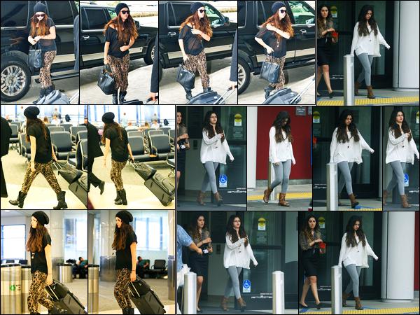 19.10.2012 ─ Selena Gomez a été photographiée alors qu'elle arrivait à l'aéroport de LAX étant dans Los Angeles.La veille, Selena Gomez a été photographiée quittant un hôpital se situant à Beverly Hills. Concernant sa tenue, c'est simple mais c'est un top de ma part.