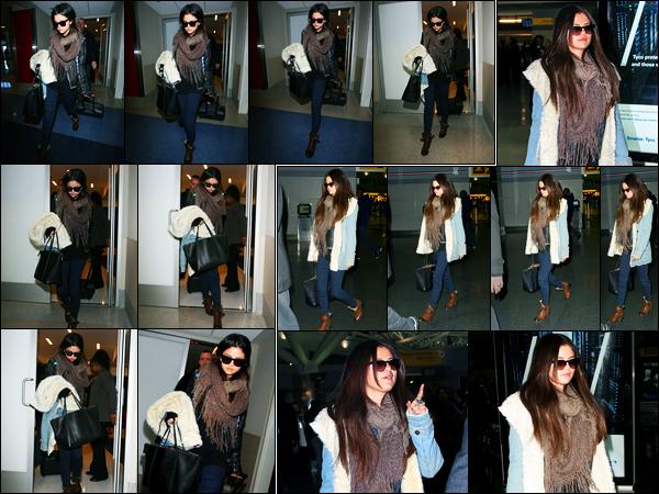 16.01.2013 ─ Selena Gomez a été photographiée alors qu'elle arrivait à l'aéroport de LAX étant dans Los Angeles.Un peu plus tard, la belle S. a été photographiée alors qu'elle arrivait à l'aéroport de JFK à New-York City. Concernant sa tenue, c'est un top de ma part !