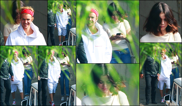 29.10.2017 ─ Selena Gomez a été photographiée, alors, qu'elle quittait le « El Rey Theatre », étant, à Los Angeles.Décidément, ils ne quittent pas. C'est de nouveau en compagnie du chanteur Justin Bieber que la belle a été photographiée. Quant à sa tenue, c'est top !