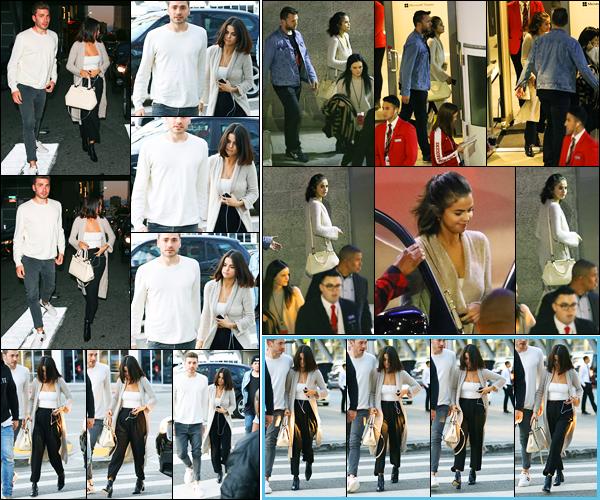 04.11.2017 ─ Selena Gomez a été photographiée, alors, qu'elle arrivait à la « Hillsong Church » dans Los Angeles.Plus tard, la belle chanteuse S. a été photographiée, alors, qu'elle quittait l'église en compagnie de Justin Bieber. Concernant sa tenue, c'est un beau top !