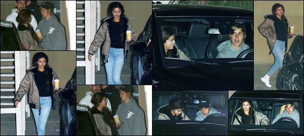 -21/02/2018- ─ Selena Gomez a été photographiée alors qu'elle quittait un service religieux de l'église, dans Los Angeles !De retour de Jamaïque, la belle S. reprend son habitude en compagnie de son petit-ami, l'église ! Concernant sa tenue, c'est un jolie petit top de ma part.