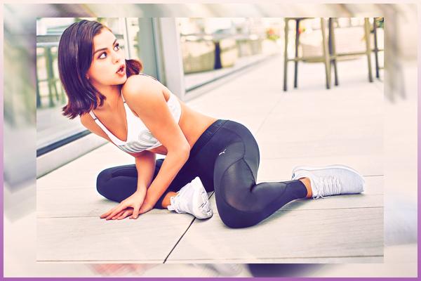 Voici une nouvelle photo de « Ignite Flash Evoknit » pour Puma de Selena !