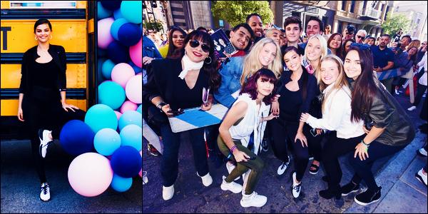 -16/05/2018- ─ Selena Gomez était présente lors du «Selena Gomez x Defy City» pour la marque PUMA dans Los Angeles.Selena qui se fait très rare en ce moment en a profiter pour poser avec quelques fans. Peu de photos malheureusement.. Sa tenue est top pour ma part !