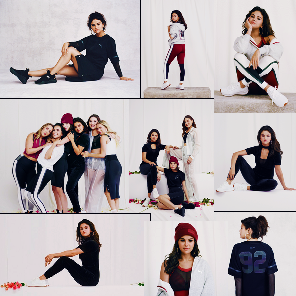 - '-● PHOTOSHOOT- Selena Gomez a posée pour « Puma x Strong Girl » de sa nouvelle collection -