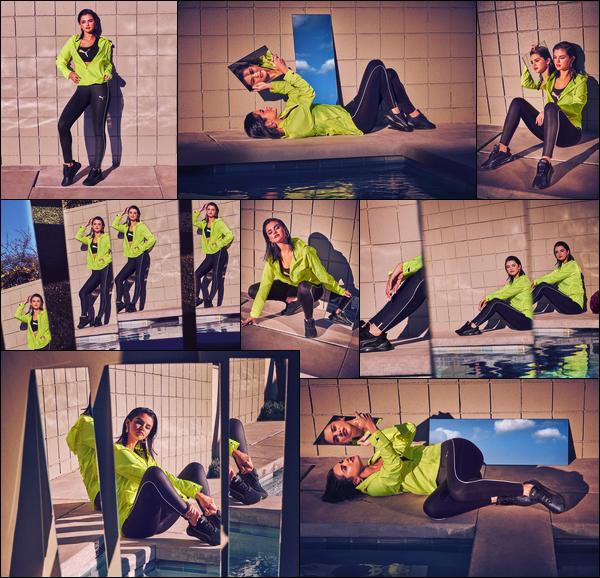 - '-● CAMPAGNE- Selena G. a poser pour « LQDCELL Shatter XT Luster » de la nouvelle campagne -
