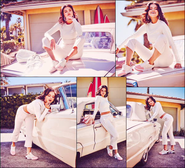 - '-● CAMPAGNE- Selena Gomez a pris la pose pour « Puma Cali Remix » pour la campagne 2019 ! -