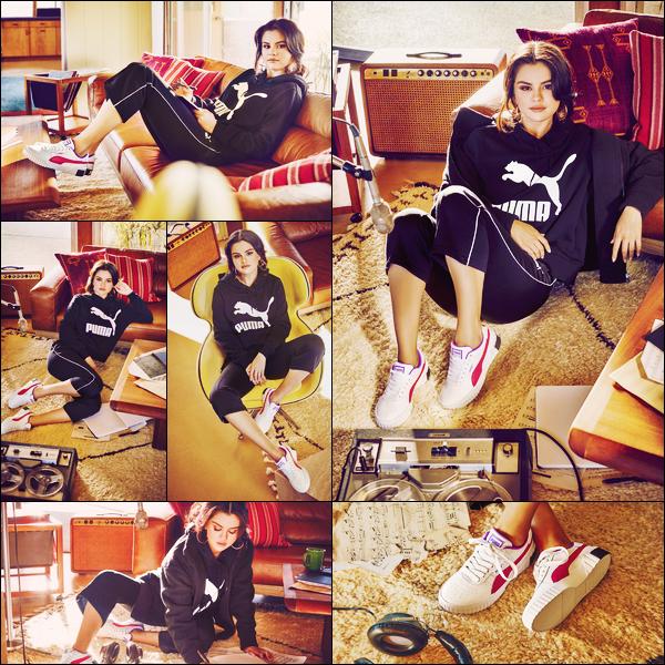 - '-● CAMPAGNE- Selena Gomez a pris la pose pour « Puma Cali Chase » pour la campagne 2019 ! -
