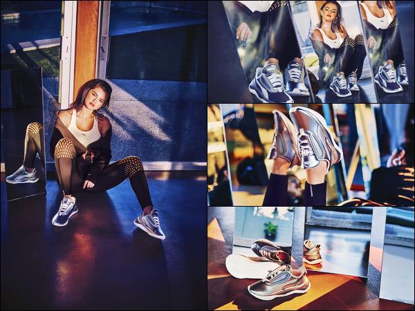 - '-● CAMPAGNE- Selena G. a poser pour « LQDCELL Shatter XT Metal » de la nouvelle campagne -